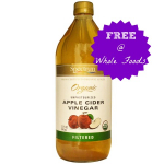 FREE Spectrum Apple Cider Vinegar at Whole Foods Market!