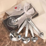 Stainless Steel Heart Shaped Measuring Spoons in Gift Box Only $5.10 Shipped!