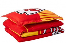 The Northwest Company NFL Kansas City Chiefs Twin Comforter and Sham $32.99 (REG $79.99)
