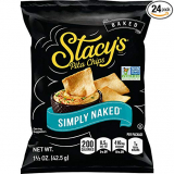 Stacy's Simply Naked Pita Chips, 1.5 Oz Bags (Pack of 24) $6.64(REG$6.99)