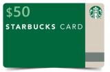 $50 Free Starbucks Gift card – Mojo Giveaway – Raffle