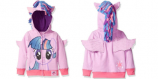 My Little Pony Girls' Twilight Sparkle Hoodie Only $5.98 at Amazon!