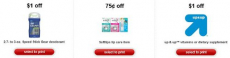 Over 40 NEW Target Printable Coupons!