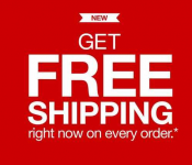 Free Shipping on Any Order at Target.com!
