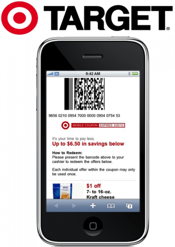 Hot New Target Mobile Coupons Available Mojosavings Com