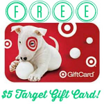 FREE $5 Target Gift Card! First 2,000!
