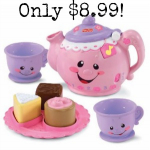 Fisher-Price Laugh and Learn Say Please Tea Set only $8.99!