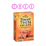 FREE Box of Triscuit Thin Crisps!