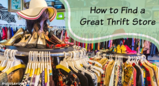 How to Find a Great Thrift Store