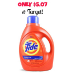 New Tide Coupons + 100 oz Liquid Tide Detergent Only $5.07 at Target!
