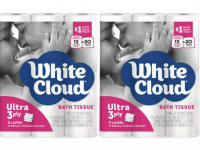 White Cloud Mega or Giant Roll Bath Tissue Only $0.99 at Walgreen's!