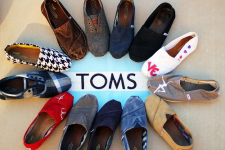 Last Chance! Save Up To 75% Off Select Sale Styles Of TOMS Shoes!