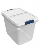Lowe's: 29 Gallon Tote with Latching Lid Just $6.98!