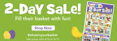 Toys R Us 2 Day Sale- Easter Basket Fillers, Board Games & More + 80% off Clearance!