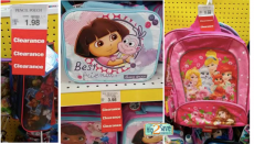 HOT! Toys R Us Clearance Cheap Backpacks & Lunchboxes!
