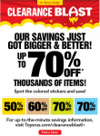 HOT! Toys R Us: Up to 70% off Clearance Prices!