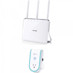 TP-Link Archer C8 Dual Band Wireless AC1750 Gigabit Router + RE360 Range Extender (54% Off)