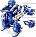 3-in-1 Educational T3 Solar Transforming Robot Science Kit DIY only $5.95