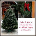 Enter to Win one of 2 Christmas Trees & Wreath Combos! (over $200 value)