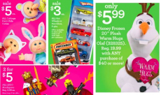 Toys R Us- Buy One Get One FREE V-Tech & Fisher Price + HOT Deals on Olaf Plush, Hot Wheels, and More!