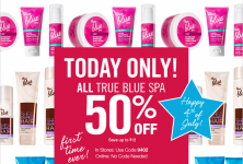 Today Only! 50% Off True Blue Spa at Bath & Body Works + 75% OFF!