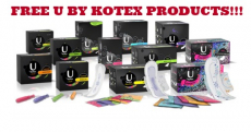 FREE U by Kotex Products + MONEYMAKER at Walgreens