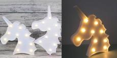 Unicorn Night Light Only $9.99! REG $22.99!