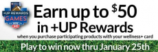Earn up to $50 in +Up Rewards at Rite Aid!