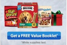 FREE Pet Value Booklet With Coupons and Gift Tags!