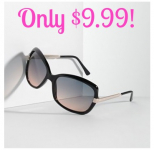 Simply Vera Vera Wang Something Borrowed Square Sunglasses Only $9.99 (Reg. $29.99!)