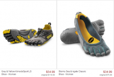 Vibram FiveFingers Only $34.99! Wow!