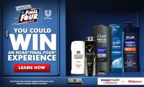 Get Game Ready + Enter To Win An NCAA Final Four