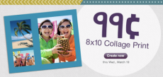 99¢ 8×10 Collage Print at Walgreens + FREE Store Pick-up!
