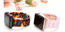 Resin Apple Watch Bands Only $24.99! Reg $69.99!