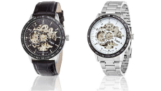 Sheffield Skeleton Dial Automatic Men's Watch Only $34.99 (Reg. $250!)