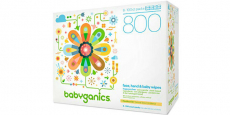 Babyganics Wipes 800-Count Box Only $10.88 Shipped!