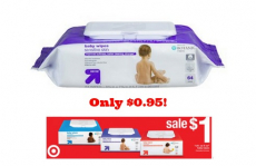 Up & Up Baby Wipes Only $0.95 at Target!