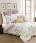 Lilac & White Serenade Quilt Set $21.99-$27.99