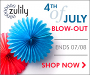 Zulily: 4th of July Blow-outs!